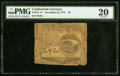 Continental Currency November 29, 1775 $4 PMG Very Fine 20