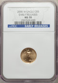 Modern Bullion Coins, 2006-W $5 Gold Eagle, Early Releases, MS70 NGC. NGC Census: (0). PCGS Population: (0)....