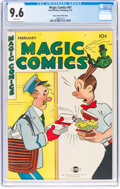 Golden Age (1938-1955):Miscellaneous, Magic Comics #67 Mile High Pedigree (David McKay Publications, 1945) CGC NM+ 9.6 White pages....