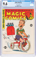 Golden Age (1938-1955):Humor, Magic Comics #61 Mile High Pedigree (David McKay Publications, 1944) CGC NM+ 9.6 Off-white to white pages....
