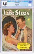 Golden Age (1938-1955):Romance, Life Story #27 Mile High Pedigree (Fawcett Publications, 1951) CGCFN+ 6.5 White pages....