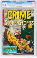 Golden Age (1938-1955):Crime, Crime SuspenStories #26 Gaines File Copy 2/12 (EC, 1955) CGC NM 9.4 Off-white to white pages....