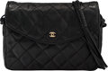 Luxury Accessories:Bags, Chanel Black Quilted Lambskin Leather Multi-Strand Shoulder Bag. The Collection of Candy Spelling. Condition: 2. 8...