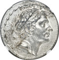 Ancients:Greek, Ancients: SELEUCID KINGDOM. Antiochus III the Great (222-187 BC). AR tetradrachm (31mm, 17.06 gm, 1h). NGC Choice AU 5/5 - 4/5, Fine Sty...