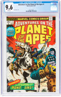 Bronze Age (1970-1979):Miscellaneous, Adventures on the Planet of the Apes #1 (Marvel, 1975) CGC NM+ 9.6White pages....