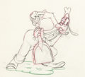 Animation Art:Production Drawing, Tugboat Mickey Goofy Animation Drawing (Walt Disney,1940)....