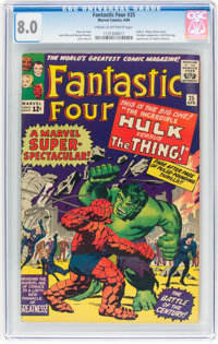 Fantastic Four #25 (Marvel, 1964) CGC VF 8.0 Cream to off-white pages