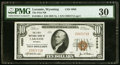 National Bank Notes:Wyoming, Laramie, WY - $10 1929 Ty. 1 The First NB Ch. # 4989 PMG Very Fine30.. ...