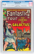 Silver Age (1956-1969):Superhero, Fantastic Four #48 (Marvel, 1966) CGC VF/NM 9.0 Cream to off-whitepages....