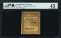 Colonial Notes:Continental Congress Issues, Continental Currency February 17, 1776 $1/2 PMG Choice Extremely Fine 45.. ...