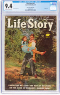Golden Age (1938-1955):Romance, Life Story #2 Mile High Pedigree (Fawcett Publications, 1949) CGCNM 9.4 Off-white to white pages....