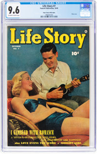 Life Story #7 Mile High Pedigree (Fawcett Publications, 1949) CGC NM+ 9.6 Off-white to white pages