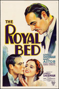 """Movie Posters:Comedy, The Royal Bed (RKO, 1931). Fine/Very Fine on Linen. One Sheet(27.25"""" X 41""""). Comedy.. ..."""