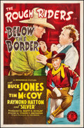 "Movie Posters:Western, Below the Border (Monogram, 1942). Rolled, Fine-. One Sheet (27"" X 41""). Western.. ..."