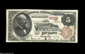 Jackson, MS - $5 1882 Brown Back Fr. 467 The First NB Ch. # 3332 A note which truly offers everything a collector of Na...