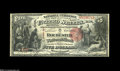 Rochester, NH - $5 1875 Black Charter Number Fr. 401 The Rochester NB Ch. # 2138 An excessively rare note which is the...
