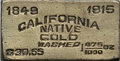 Expositions and Fairs, 1915 California Native Gold Washed Ingot. This gold plated,small-sized ingot was issued as a collectible for the Panama-Pac...