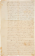 Autographs:U.S. Presidents, Andrew Jackson Power of Attorney Document Signed...