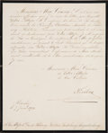 Autographs:Non-American, Nicholas II, Czar of Russia, Letter Signed...