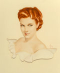 "Mainstream Illustration, Alberto Vargas (American, 1896-1982). ""It's new. It's different."", Cold Wave Permanent Wave advertisement, 1941. Gouache..."