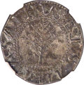 1652 SHILNG Pine Tree Shilling, Large Planchet, No Pellets at Trunk, MS61 NGC. Noe-2, W-700, Salmon 2-C, R.5....(PCGS# 4...