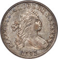 Early Dollars, 1797 $1 10x6 Stars, Large Letters, B-3, BB-71, R.2, AU50 PCGS....