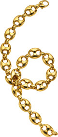 Estate Jewelry:Necklaces, Gold Necklace, Gucci. ...