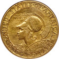 Commemorative Gold, 1915-S $50 Panama-Pacific 50 Dollar Round -- Cleaned -- NGC Details. Unc....
