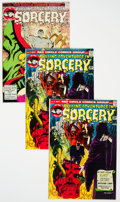Bronze Age (1970-1979):Horror, Chilling Adventures in Sorcery Group (Red Circle, 1973-74)Condition: Average VF+.... (Total: 7 Items)