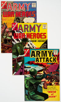 Silver Age War Group of 18 (Charlton/Marvel, 1964-71) Condition: Average VF.... (Total: 18 Items)