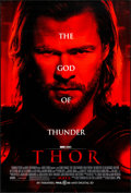 """Movie Posters:Action, Thor (Paramount, 2011). Rolled, Very Fine-. One Sheet (27"""" X 40"""") DS Advance. Action.. ..."""