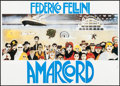 "Movie Posters:Foreign, Amarcord (Dear International, R-1970s). Folded, Very Fine. Horizontal Italian 2 - Fogli (55.25"" X 39.25"") Giuliano Geling Ar..."