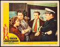 """Movie Posters:Hitchcock, Foreign Correspondent (United Artists, 1940). Fine/Very Fine. Lobby Card (11"""" X 14""""). Hitchcock.. ..."""