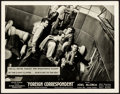 """Movie Posters:Hitchcock, Foreign Correspondent (United Artists, 1940). Very Fine-. Deluxe Photo Lobby (11"""" X 14""""). Hitchcock.. ..."""