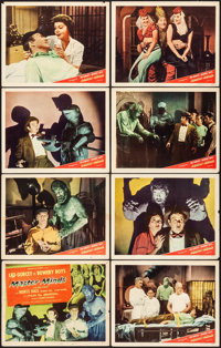 "Master Minds (Monogram, 1949). Fine/Very Fine. Lobby Card Set of 8 (11"" X 14""). Horror. ... (Total: 8 Items)"