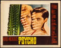 "Movie Posters:Hitchcock, Psycho (Paramount, 1960). Fine/Very Fine. Lobby Card (11"" X 14""). Hitchcock.. ..."