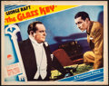 Movie Posters:Crime, The Glass Key (Paramount, 1935). Fine/Very Fine. L...