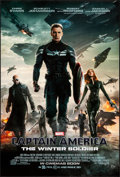 "Movie Posters:Action, Captain America: The Winter Soldier (Walt Disney Pictures, 2014). Rolled, Very Fine+. International One Sheet (27"" X 40"") DS..."