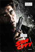 "Movie Posters:Crime, Sin City & Other Lot (Dimension, 2005). Rolled, Very Fine+. One Sheets (2) (27"" X 41"") DS Advance, Clive Owen Style. Crime.... (Total: 2 Items)"