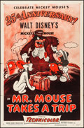 "Movie Posters:Animation, Mr. Mouse Takes a Trip (RKO, R-1953). Folded, Fine/Very Fine. OneSheet (27"" X 41""). Animation.. ..."