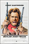 """Movie Posters:Western, The Outlaw Josey Wales (Warner Brothers, 1976). Folded, Very Fine+. One Sheet (27"""" X 41"""") Roy Anderson Artwork. Western.. ..."""