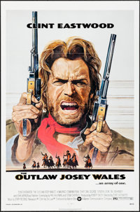 "The Outlaw Josey Wales (Warner Brothers, 1976). Folded, Very Fine+. One Sheet (27"" X 41"") Roy Anderson Artwork..."