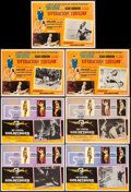 """Movie Posters:James Bond, Goldfinger & Other Lot (United Artists, 1966). Overall: Fine/Very Fine. Mexican Lobby Cards (7) (16.75"""" X 12.25"""" & 16.5"""" X 1... (Total: 7 Items)"""