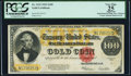 Fr. 1215 $100 1922 Gold Certificate PCGS Apparent Very Fine 25