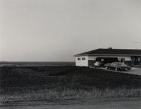 Frank Gohlke (American, b. 1942) House on Outskirts of Moorehead, Minnesota, 1977 Gelatin silver, 19