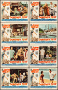 """Movie Posters:Comedy, Donovan's Reef (Paramount, 1963). Very Fine. Lobby Card Set of 8(11"""" X 14""""). Comedy.. ... (Total: 8 Items)"""