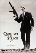 """Movie Posters:James Bond, Quantum of Solace (MGM, 2008). Rolled, Very Fine/Near Mint. One Sheets (2) Identical (26.75"""" X 39.75""""). James Bond.. ... (Total: 2 Items)"""