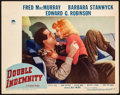 Movie Posters:Film Noir, Double Indemnity (Paramount, 1944). Very Fine-. Lo...