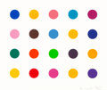Prints & Multiples:Print, Damien Hirst (b. 1965). Esculetin, from 40 Woodcut Spots, 2011. Woodcut in colors on wove paper. 18-1/2 x 22 inches ...