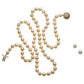 Estate Jewelry:Lots, Cultured Pearl, Gold Jewelry . ... (Total: 2 Items)